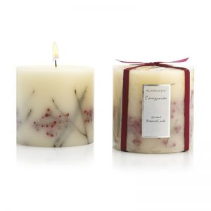 Botanical candle single wick